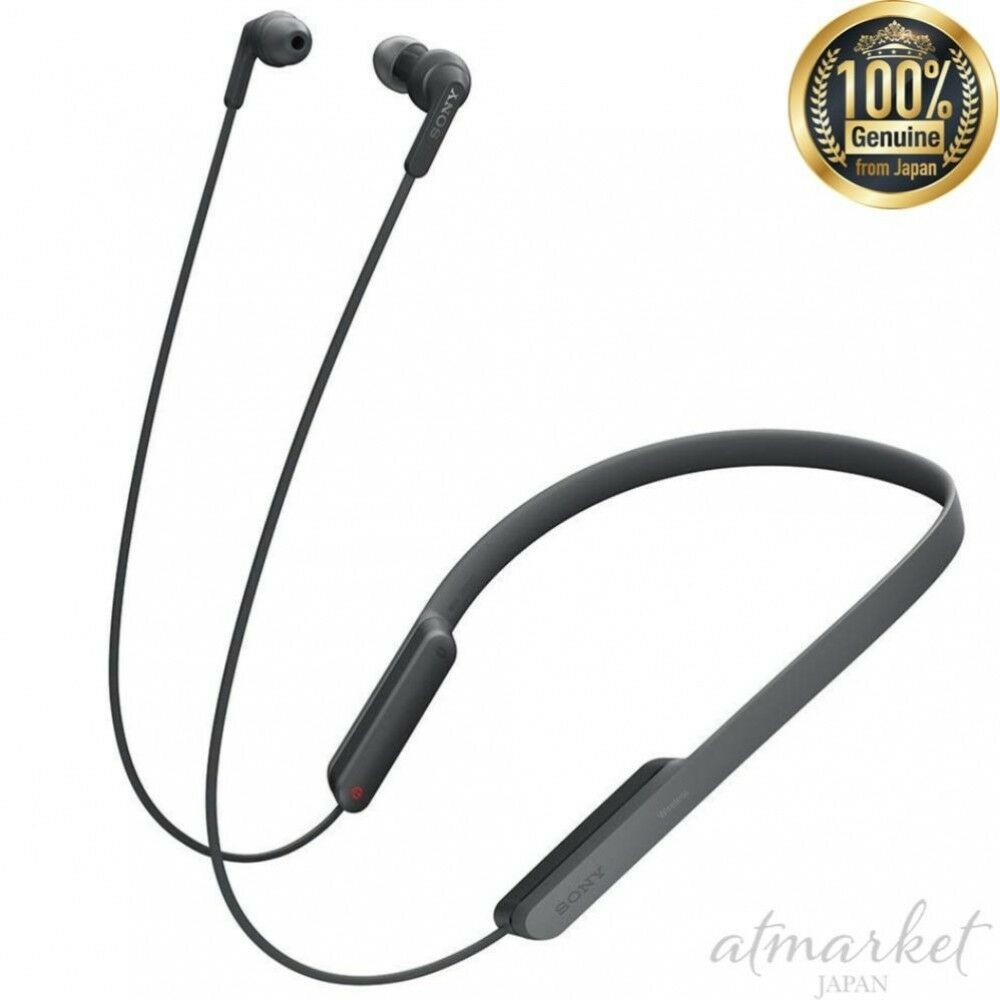 d52c94d27a5 Details about NEW SONY Wireless Earphone Bluetooth Remote Control with Microphone  MDR-XB70BT B