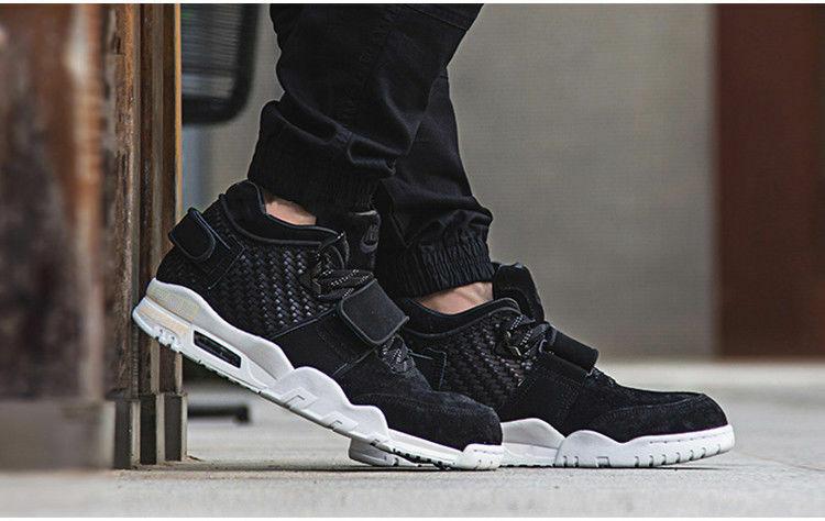 d73f857e1d23 Details about NIKE AIR TRAINER VICTOR CRUZ SHOES BLACK MENS 11 NEW  777535-004 LEATHER SUEDE