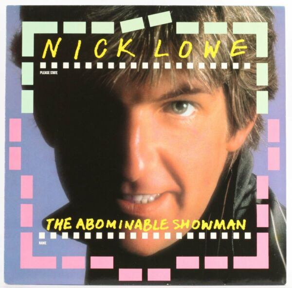 Nick Lowe , The Abominable Snowman  Vinyl Record *USED*