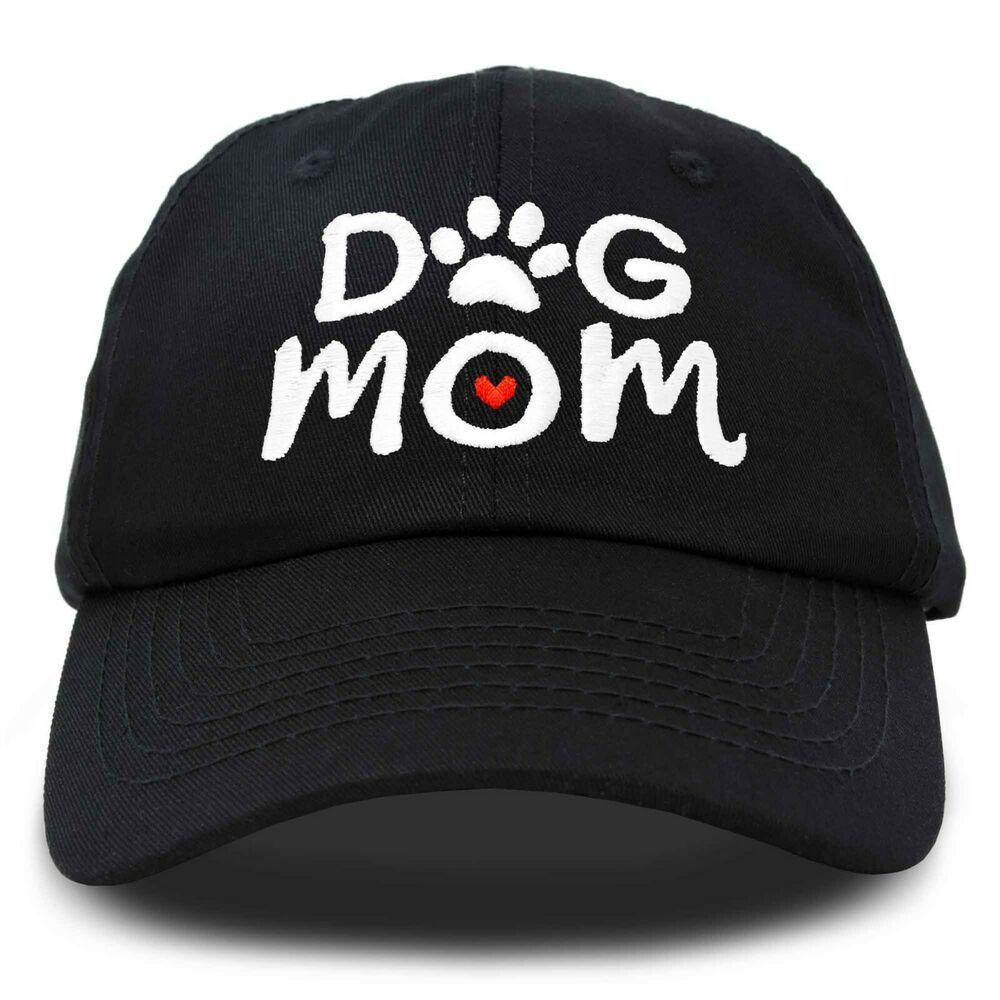 ca8f985df36e5 Details about DALIX Dog Mom Baseball Cap Women s Hats Dad Hat
