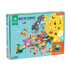 Kyпить Mudpuppy Map Of Europe Puzzle 70 Piece Puzzle Kids Puzzle Age 5-9  01551 на еВаy.соm