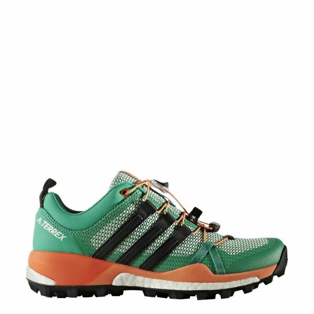 09150d7dc03b Details about  BB0946  Womens Adidas Terrex Skychaser W Trail Running  Sneaker - Green Black