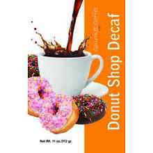 Case of 17 Bags - Donut Shop Decaf Ground Coffee - Boston's Best Coffee Roasters