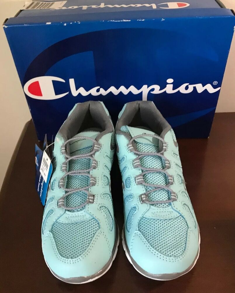 b983f92f51ef New Champion Solstyce Teal Blue Slip On Sneakers Shoes Women s Size ...
