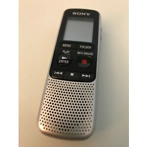 Sony Icd-bx140 Mp3 Digital Voice Ic Recorder -sold Parts Only