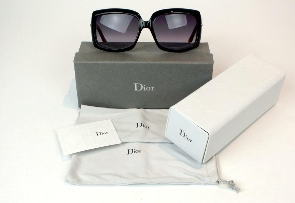 37a2a8f28b63 Details about NEW CHRISTIAN DIOR SUNGLASSES DIOR MY LADY DIOR 6 0Z5HD BLACK  RED