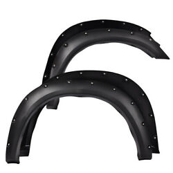 Kyпить For 2010-2017 Dodge Ram 2500/3500 Pocket Rivet Textured Black Fender Flares на еВаy.соm
