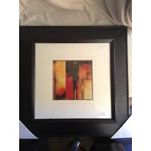 THE DIVIDE 1 and 2 FRAMED MATTED ART PRINTS by MAX HANSEN