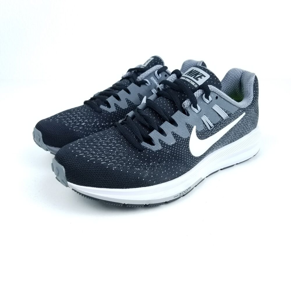 b8b95f1b7757e Details about NIKE Air Zoom Structure 20 Womens Running Shoes Multi Sizes  Black 849577 003