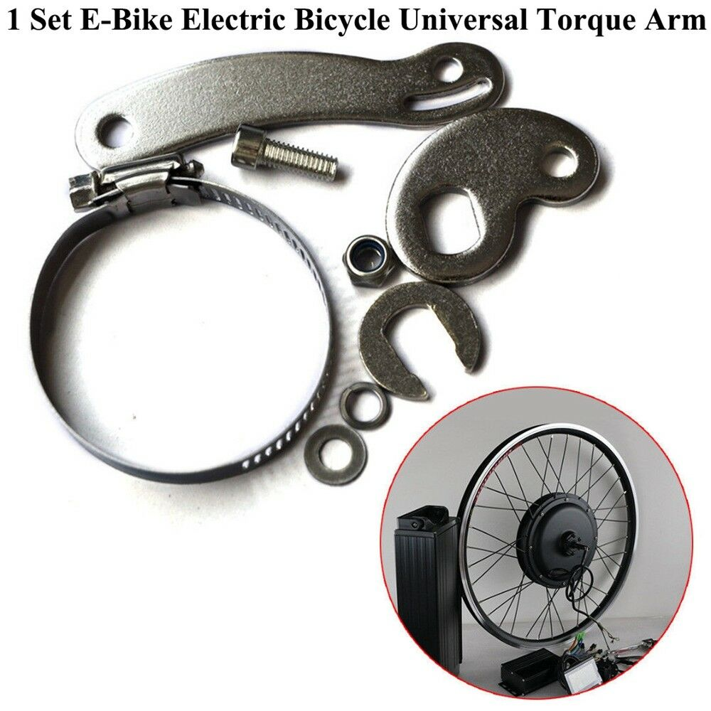 E-Bike Aluminum Electric Bicycle Universal Torque Arm For Front Or Rear Use