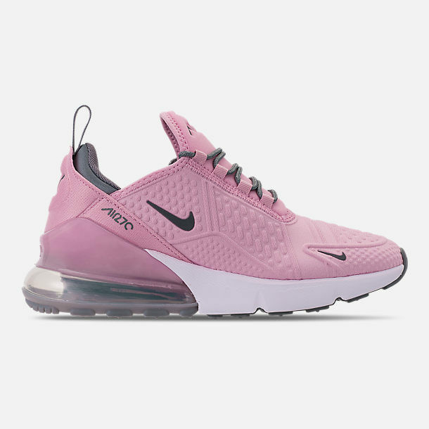 9c9d626ce2c0 Details about Nike Air Max 270 Light Arctic Pink Cool Grey White AQ2654 600  Kids Girls GS