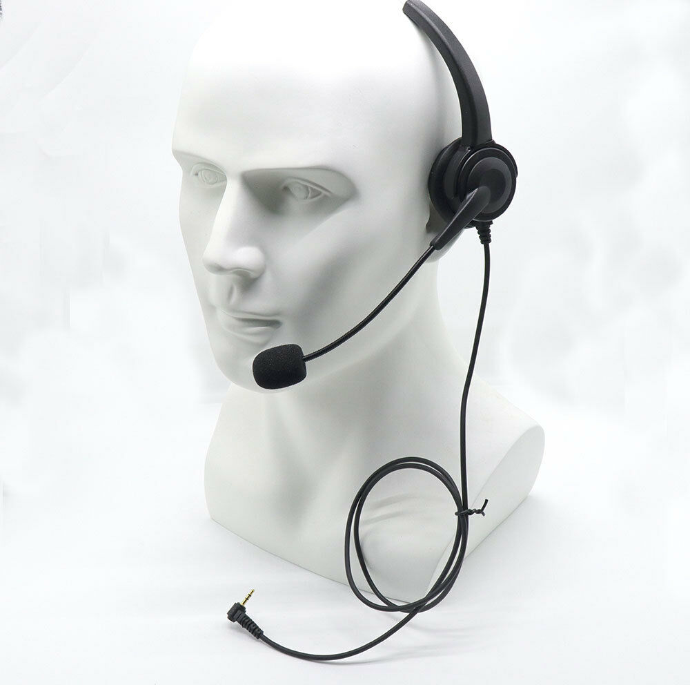 Over-the-Head Band 2.5mm Headset For Panasonic Office Home