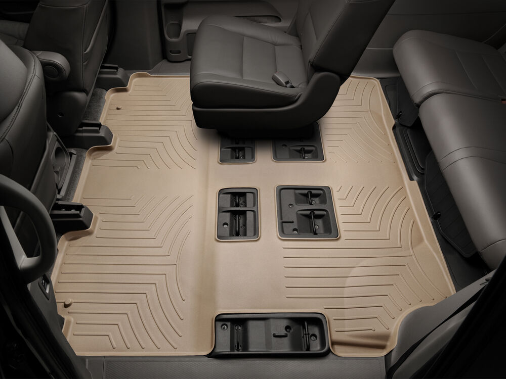 Details About Weathertech Car Floor Mat Floorliner For 2018 2019 Chrysler Pacifica 2nd 3rd Row