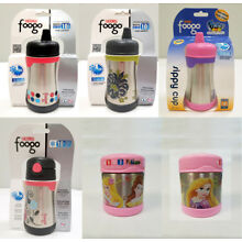 Thermos Foogo Vaccum Insulated Stainless Steel Sippy Cup / Food Jar (YOU CHOOSE)