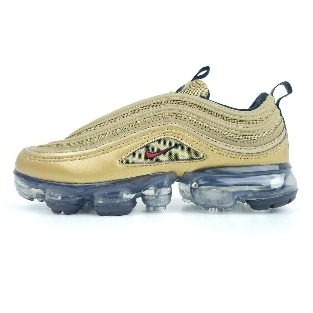 20d1a7efb2 Details about NIKE Air Vapormax  97 (GS) Metallic Gold Bullet Youth Sizes  3.5Y