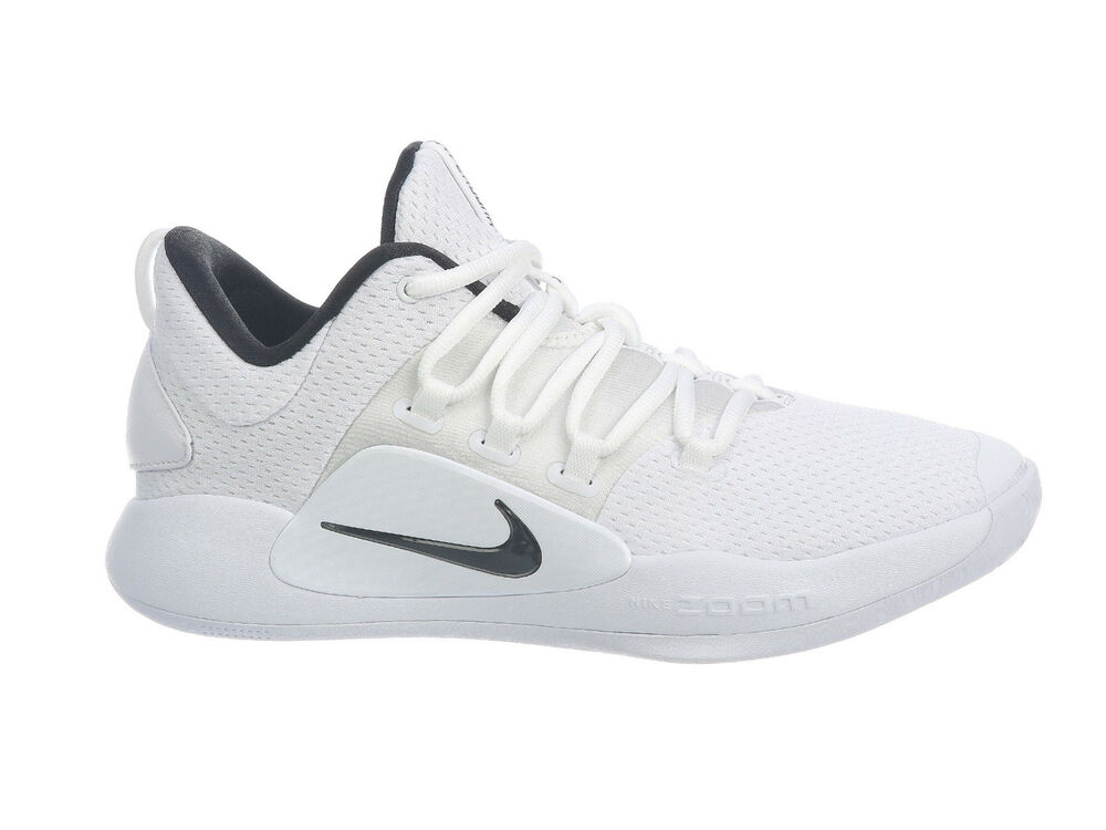 2254bc9ed7a2 Details about Mens Nike Hyperdunk X Low Basketball Shoes Trainers White  Black
