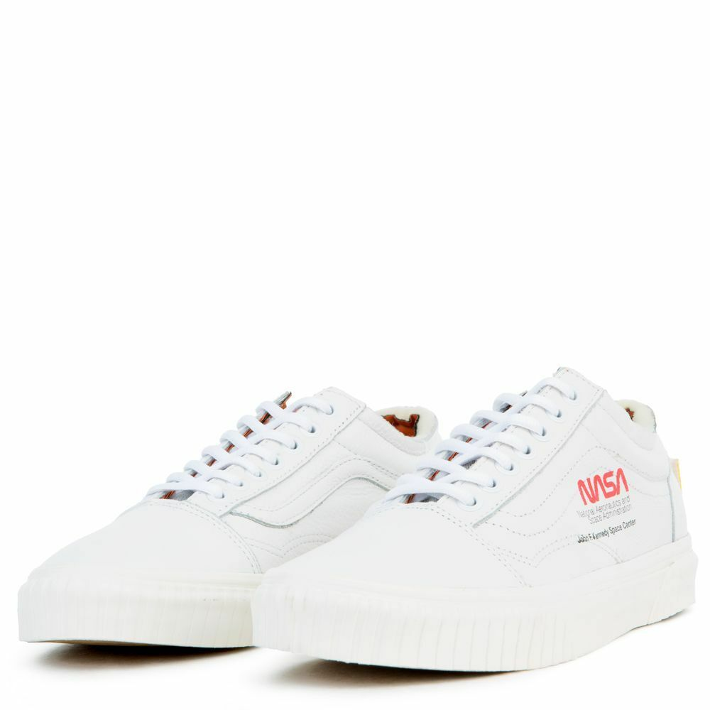 ea5ba996d6 Details about Vans x NASA Old Skool True White Space Voyager Collab Shoes  All NEW RARE