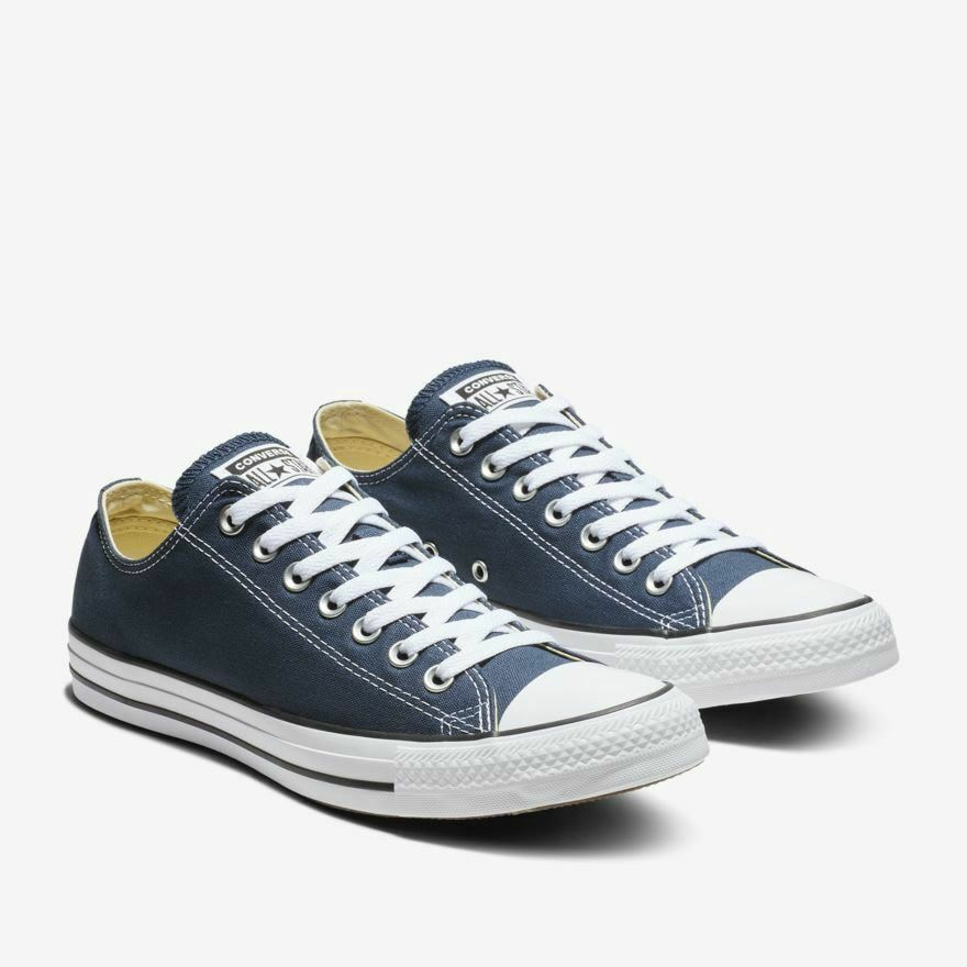 24f52896241a Details about Converse Chuck Taylor All Star OX LOW Canvas Men Shoes Navy  Blue M9697