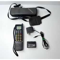 Kyпить Rare Vintage Panasonic Brick Mobile Cell  Phone Model # EB-3500  W/ Charger Case на еВаy.соm