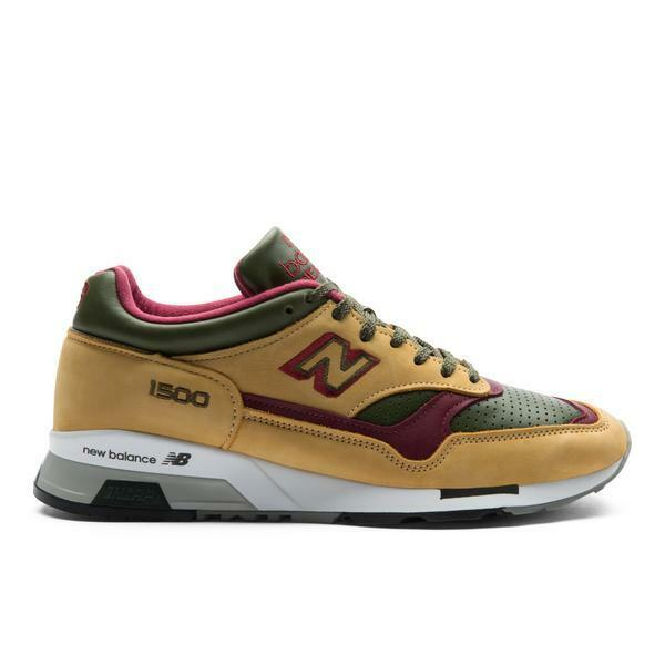 newest c3fc4 59b72 Details about New Balance 1500 in Tan Dark Green M1500TGB BNIB Free Shipping