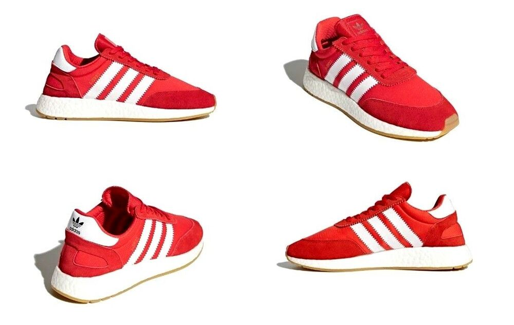 402d243ee41395 Details about Adidas I-5923 Runner Shoes Red   Cloud White   Gum Mens Size  11 US NIB BB2091