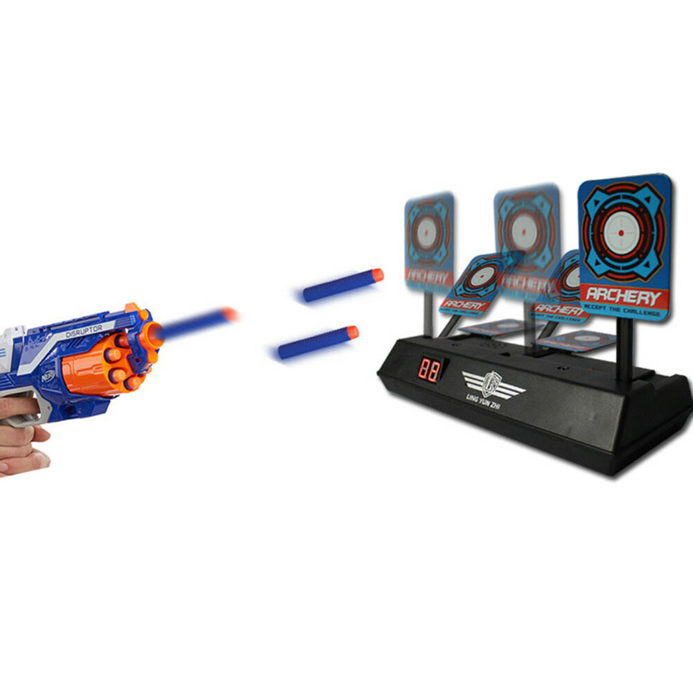 Details About Hk Electric Auto Reset Shooting Scoring Practice Return Target For Water Gun To