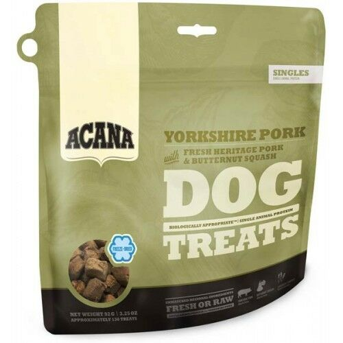 Acana Snack Treats Dog Yorkshire Pork 35 gr Per Cani