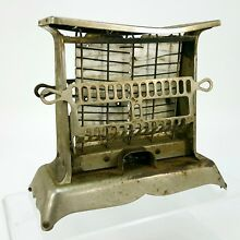 Antique Hotpoint Edison Electric 2 Slice Toaster 115T Appliance Metal No Cord