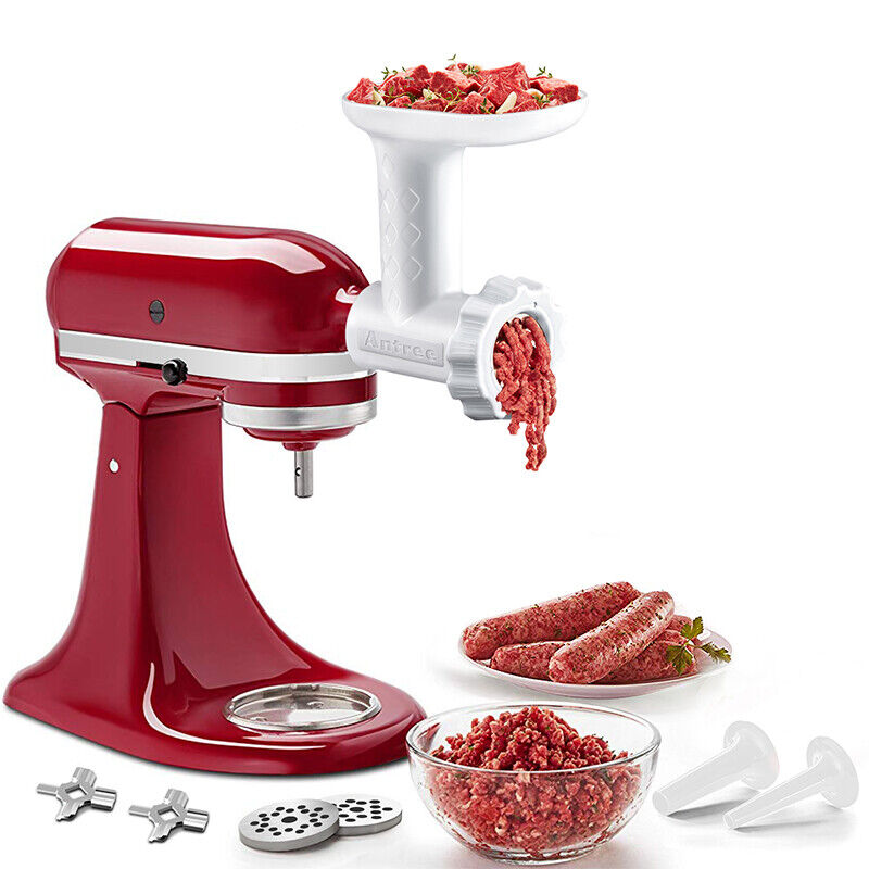 Antree Food Grinder And Sausage Tube Attachment For