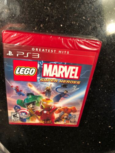 LEGO Marvel Super Heroes Greatest Hits PlayStation 3 Brand new factory sealed