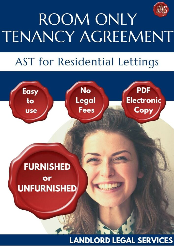 New 2018 Ast Room Only Tenancy Agreement Landlord Rental Contract E