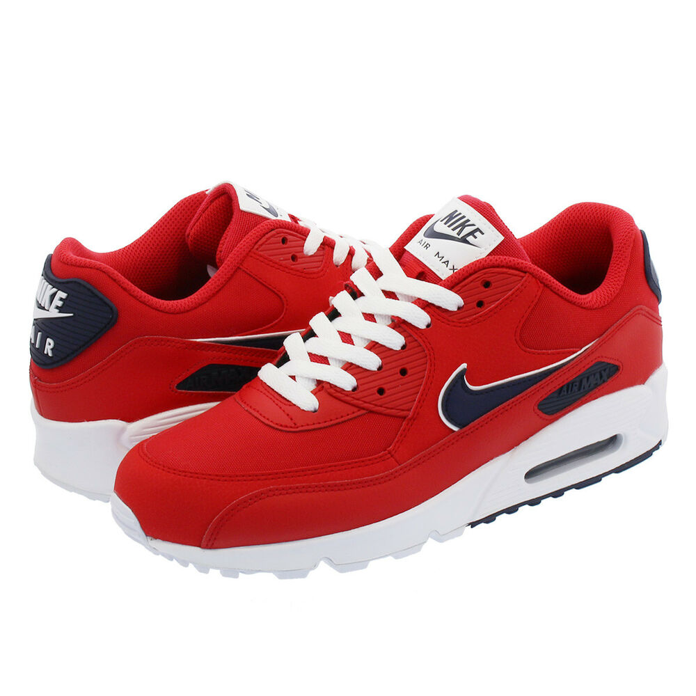 best service ef741 11365 Details about Nike Air Max 90 Essential Red Black AJ1285-601 Basketball  Shoes Men