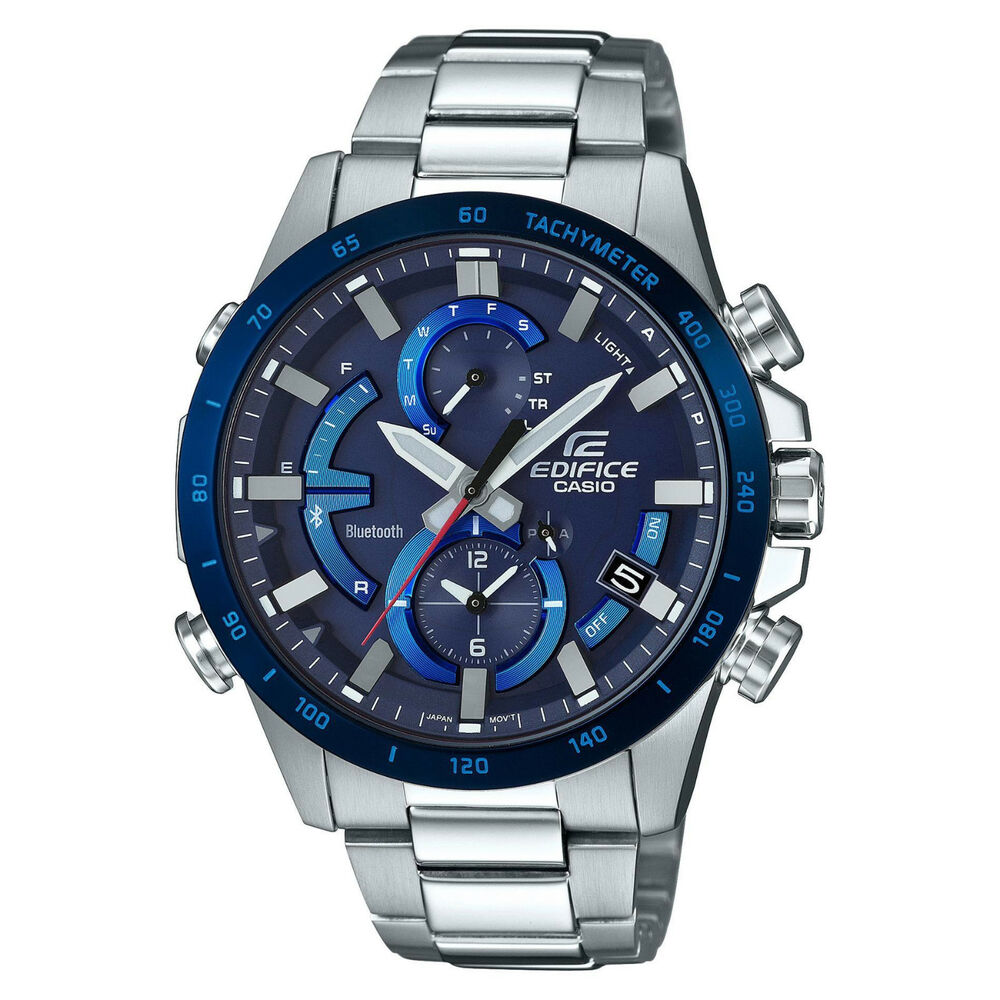 07ebbd2d9 Details about Casio EDIFICE EQB900DB-2A Smartphone Link Solar Power  Stainless Steel Mens Watch