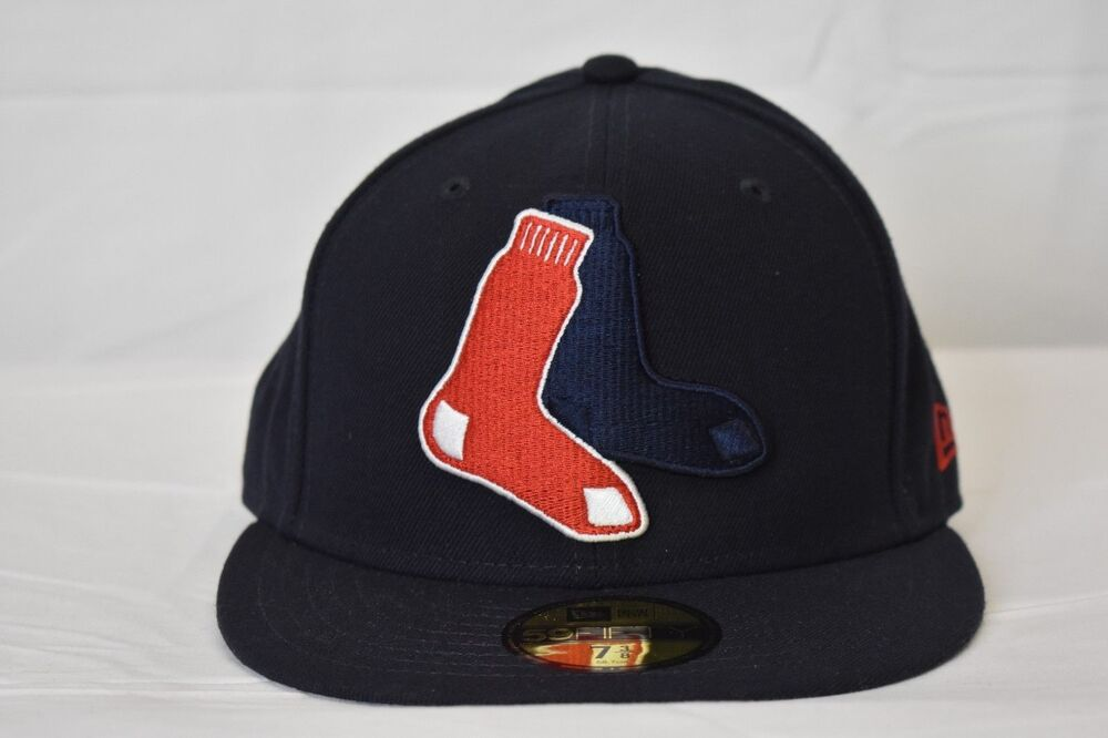 9d88caaaa New Era 59Fifty Mens MLB Boston Red Sox Fitted Hat Cap New Size 7 | eBay