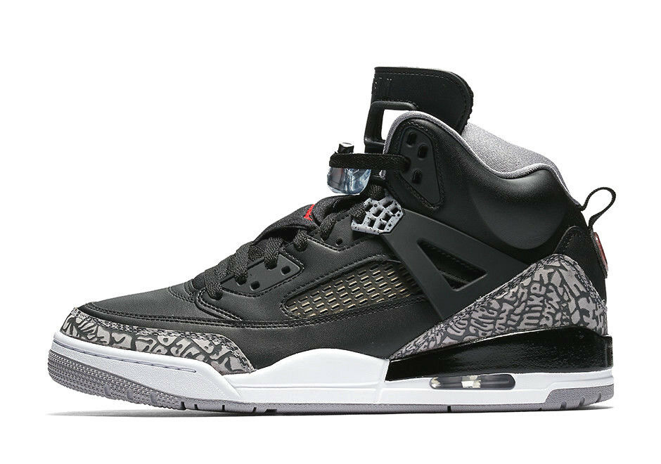 official photos 7d66e 42679 Details about Nike Air Jordan Spizike BLACK CEMENT GREY RED OG 3 WHITE FIRE  315371-034 sz 9