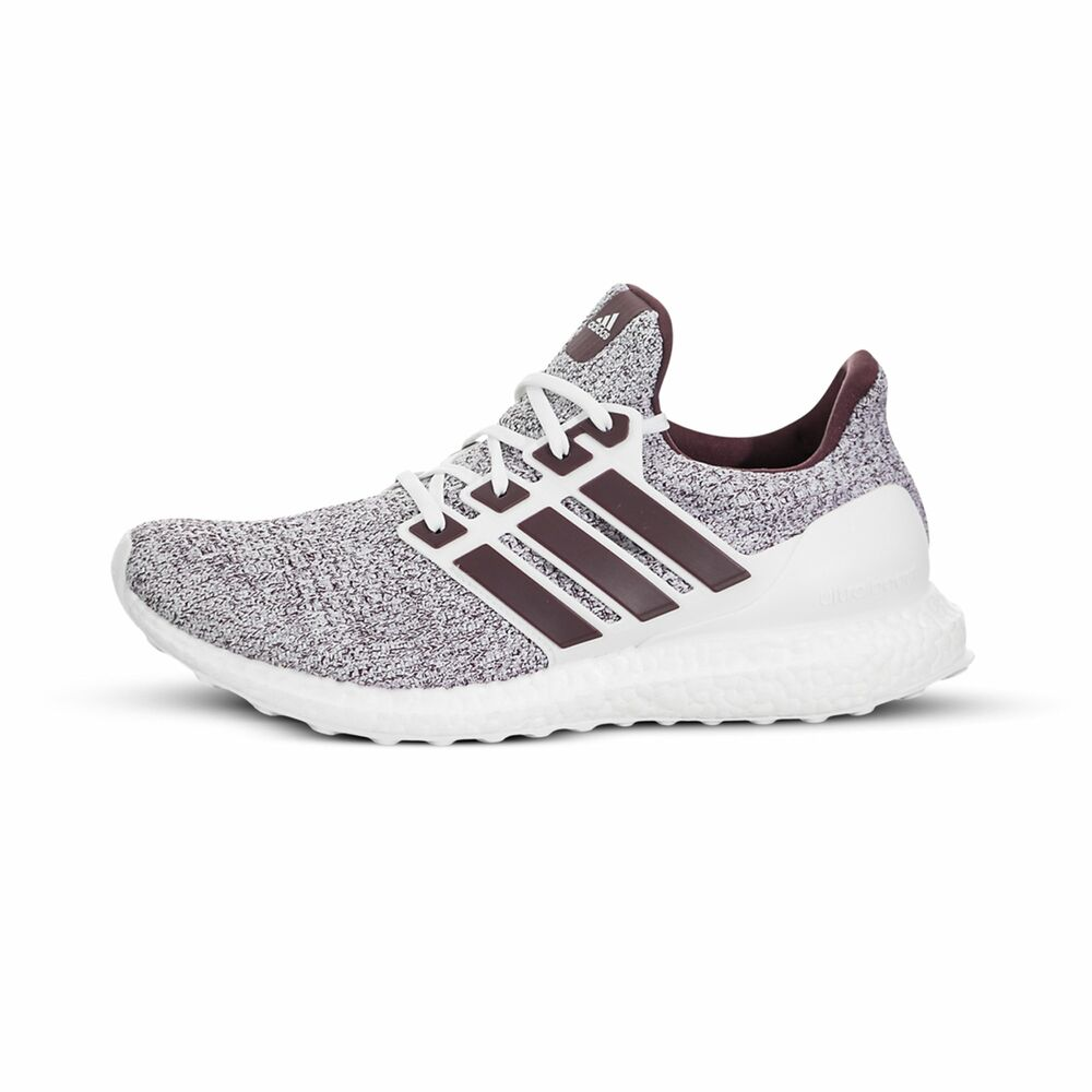 b648bb457 Details about  EE3705  Mens Adidas UltraBOOST - Cloud White Maroon - Texas  A M