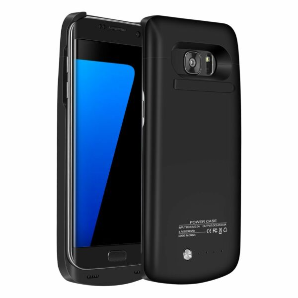External Power Bank Pack Battery Charger Case For Samsung Galaxy S6 S7 Edge Plus