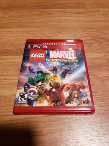 LEGO Marvel Super Heroes Greatest Hits PlayStation 3 (Tested)