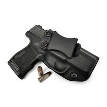 IWB KYDEX HOLSTER FOR SIG SAUER P365 Right HAND BLACK