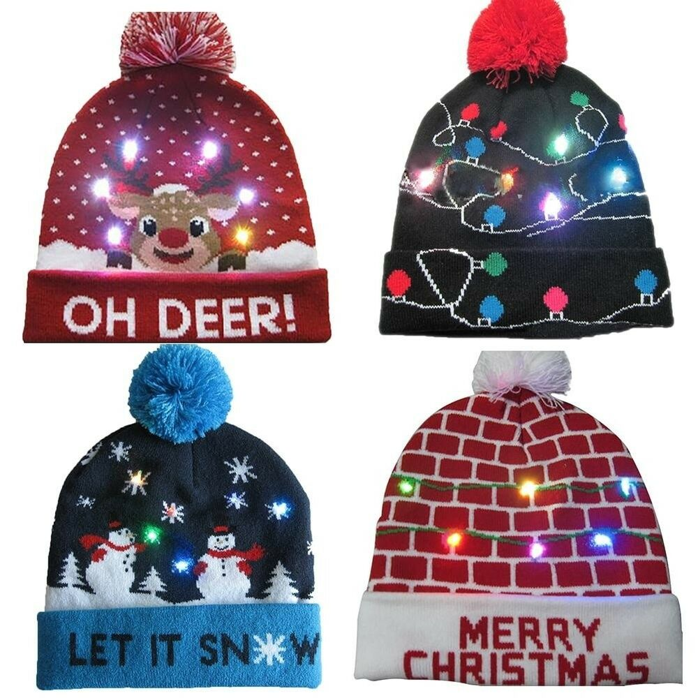 52cf2b1c55e1e 27+ Light Up Christmas Hats - All About Christmas Decoration 2018