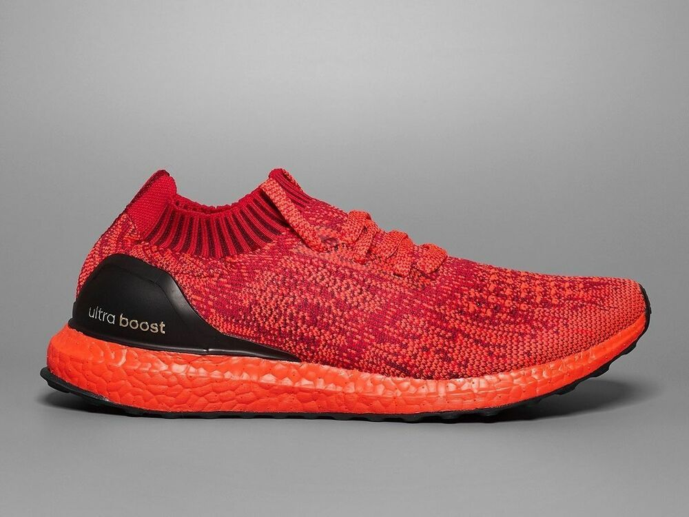 add87f175b4cb Details about Adidas Ultra Boost Uncaged LTD Triple Red Size 9. BB4678 NMD  PK Yeezy