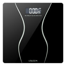 Digital Body Weight Scale Bathroom Fitness Backlit LCD Display 400lb + 2 Battery