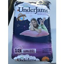 Vintage Pampers Underjams Girls Size XL Bedwetting From 2010 13 Ct Sealed.