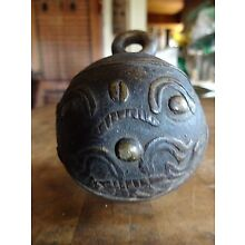 Antique Asian Bronze Elephant Bell Yunnan, Southern China