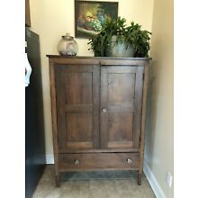 Antique Primitive Mixed Wood Jelly Cupboard