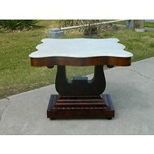 Gorgeous Mahogany American Empire Center Table~~circa 1840