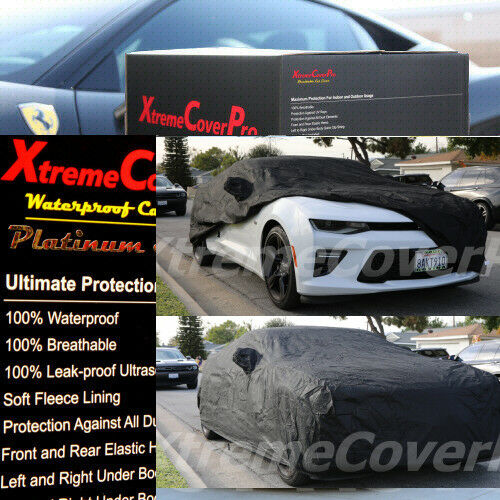 Details About Custom Fit 2016 2017 2018 2019 Chevy Camaro Waterproof Car Cover Black