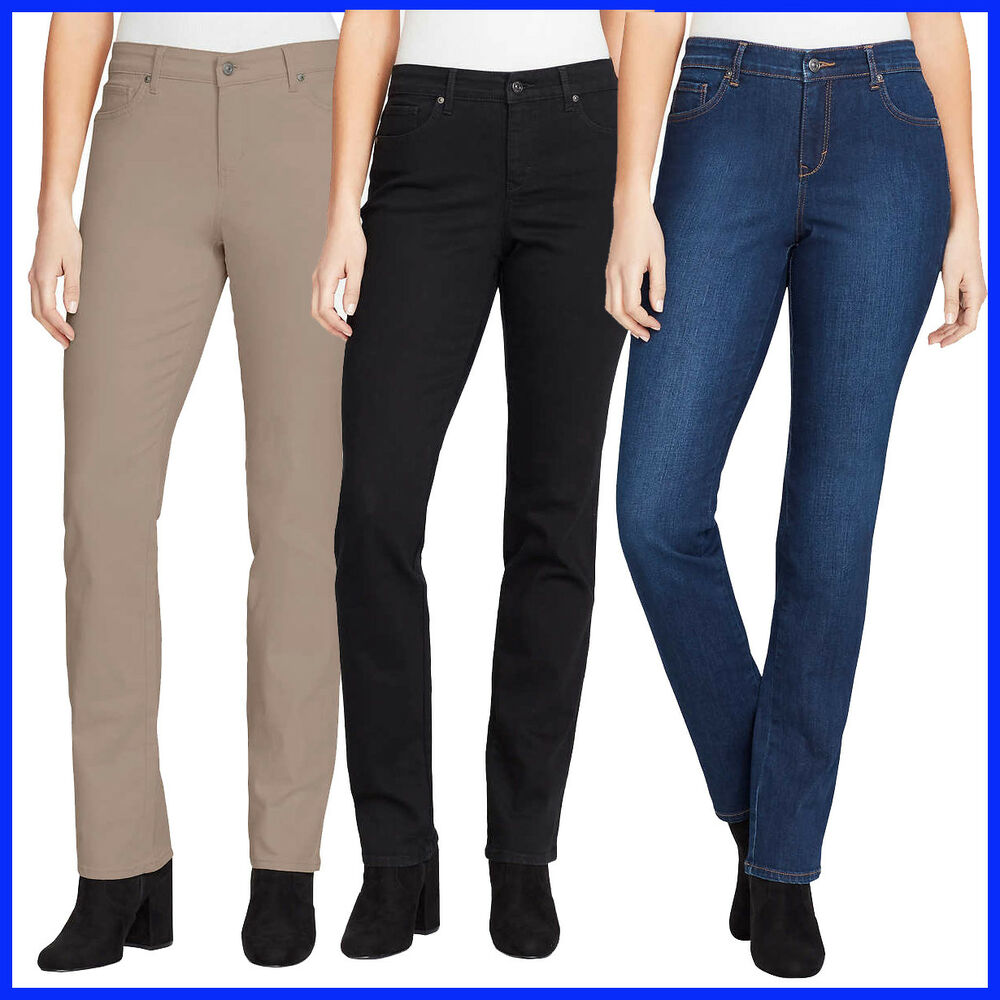 1b930c7256f Gloria Vanderbilt women s Ladies  Willow Rail Straight Jean