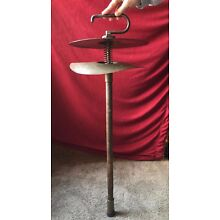 LUDWIG Antique Vintage ONE-MAN BAND Instrument Cymbal boombass stump steam cane