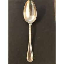 ( 10 ) Spatours by Christofle Silverplate Dinner Spoon 8 5/8